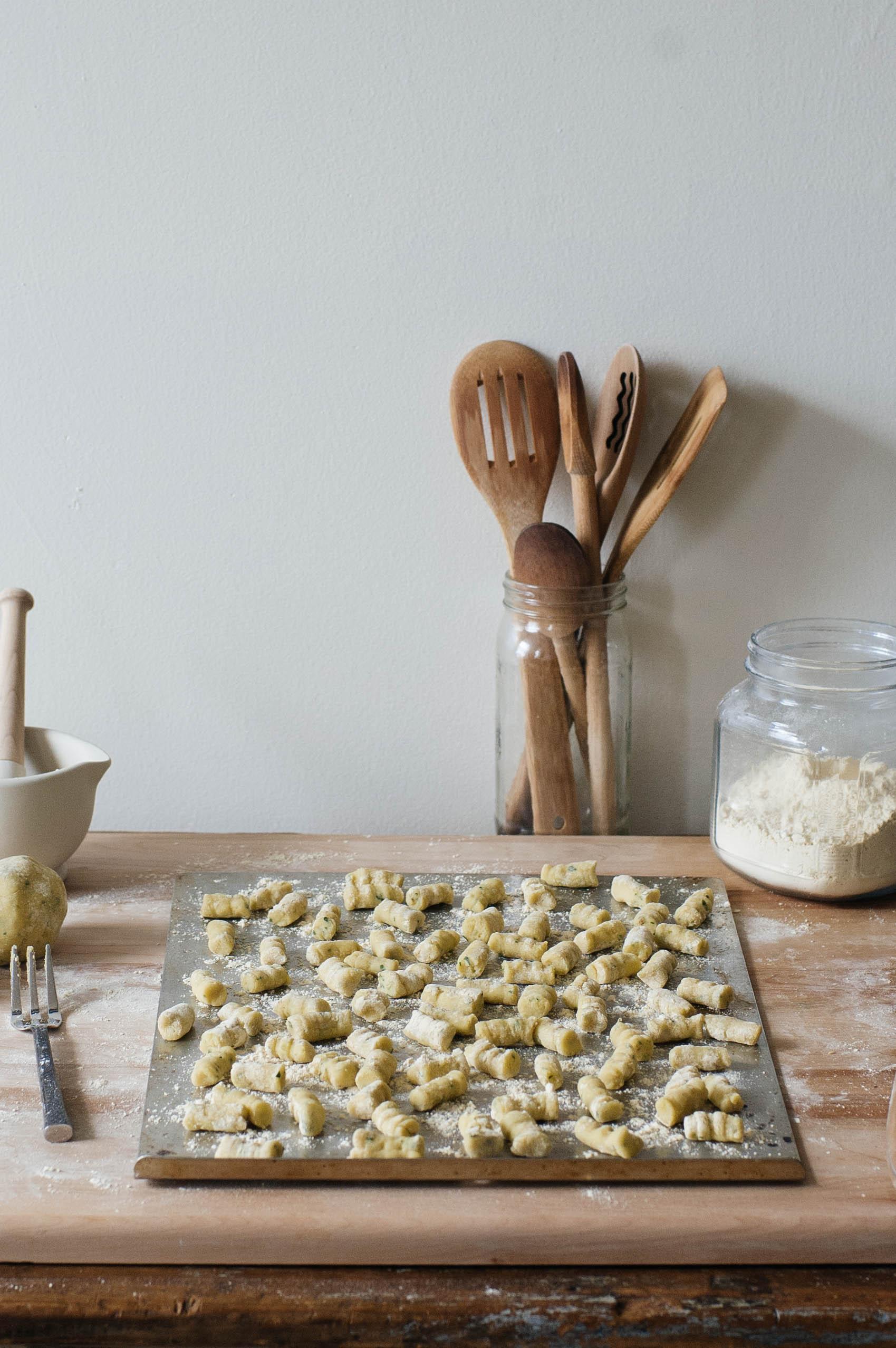 Toasted fennel-seed gnocchi