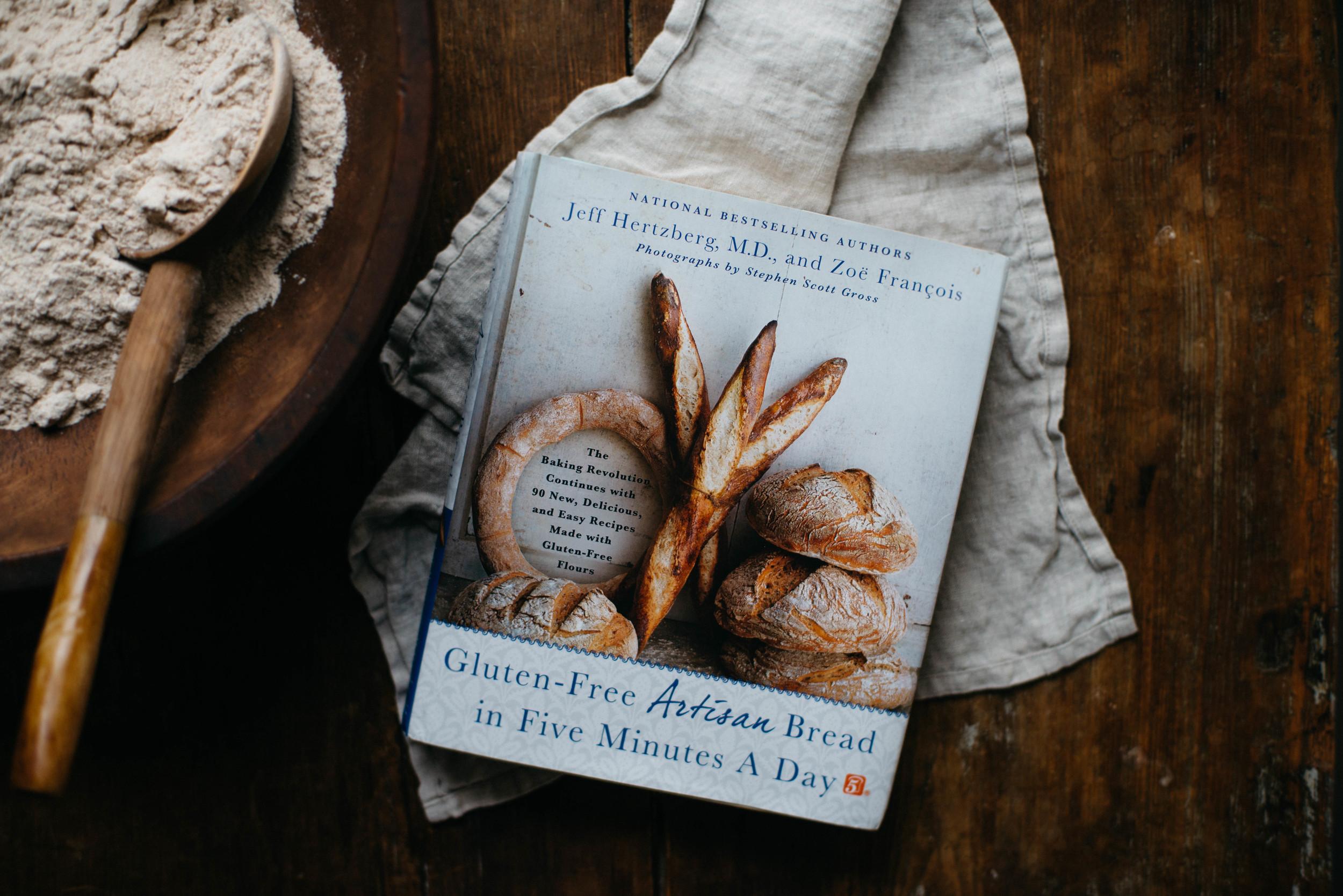 GF artisan bread in 5