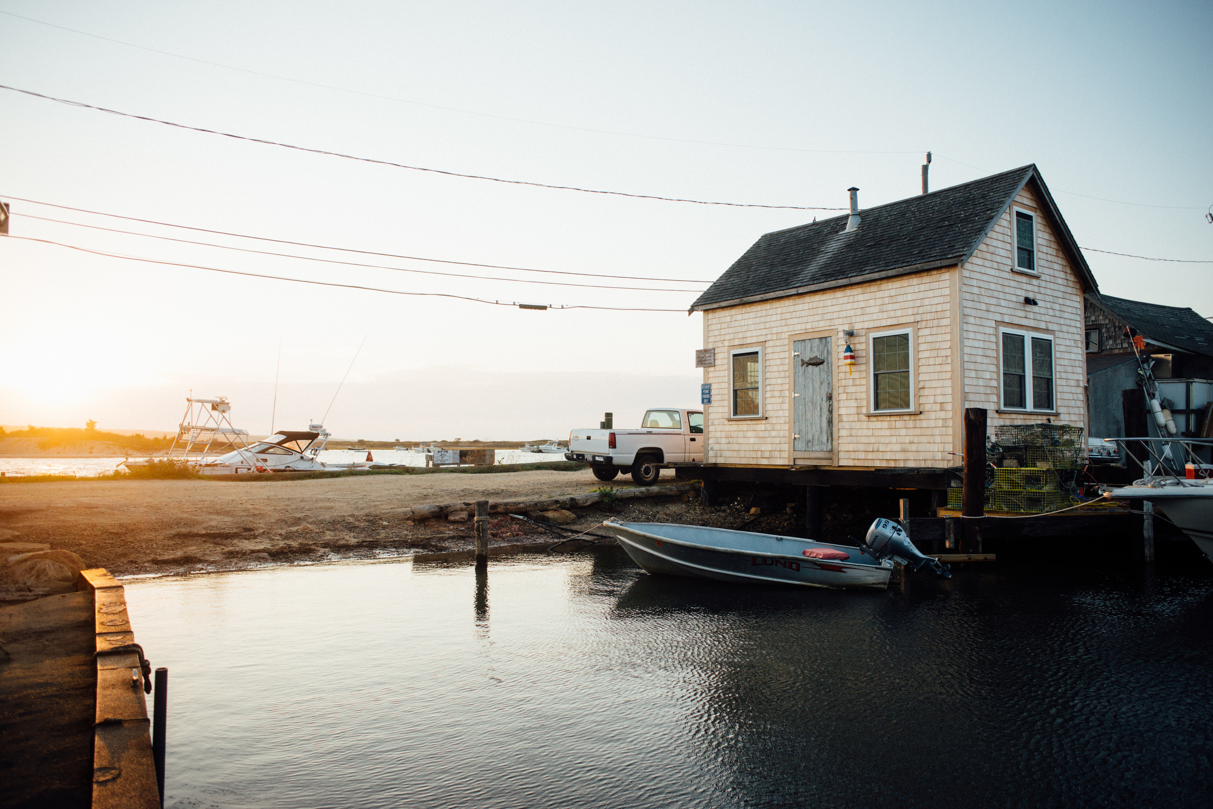 menemsha sunset | dolly and oatmeal