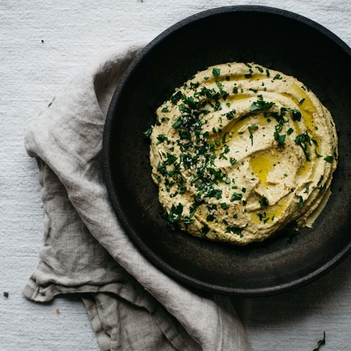 roasted golden beet + shallot dip