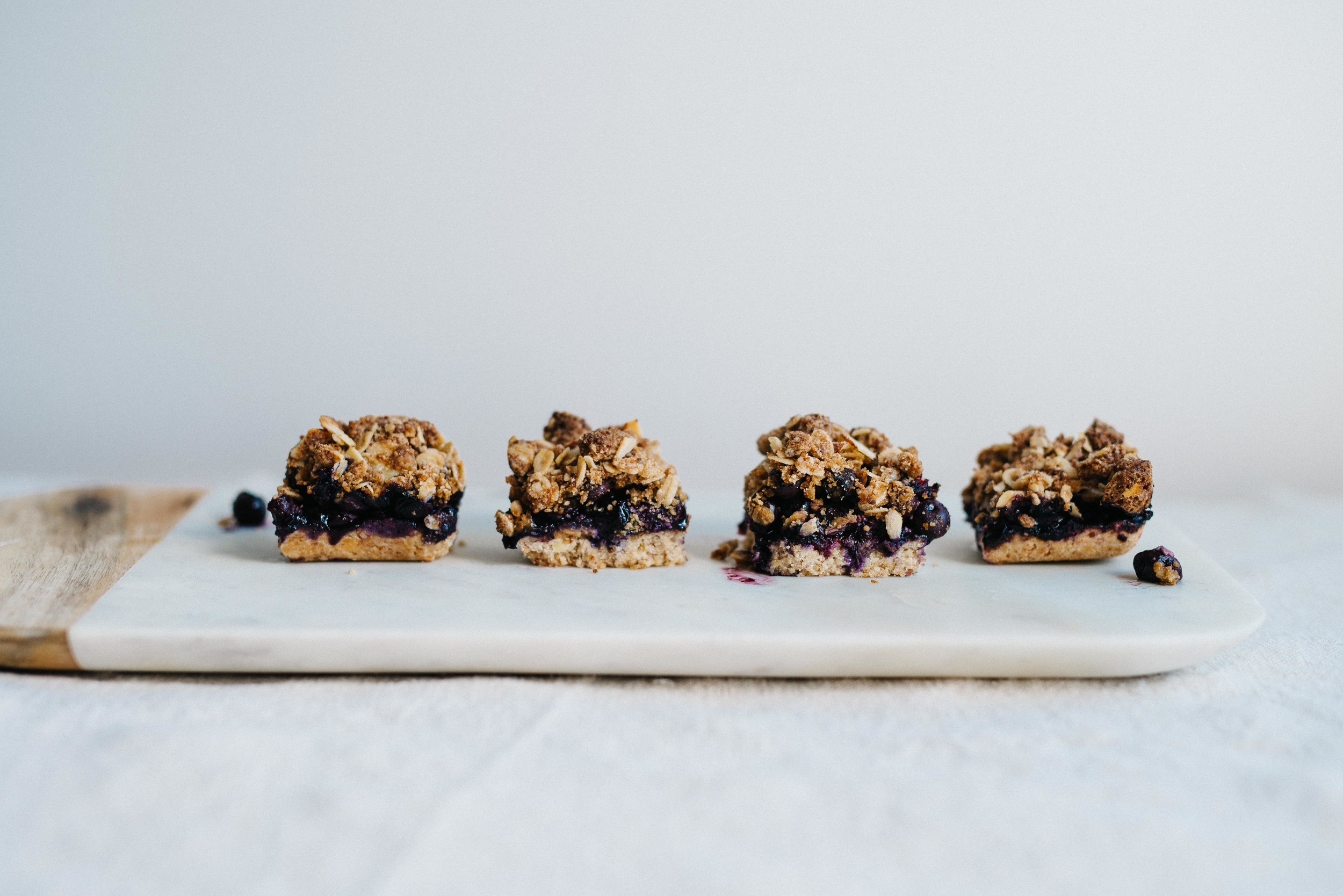 Summer Fridays! Almond-Blueberry Pie Bars