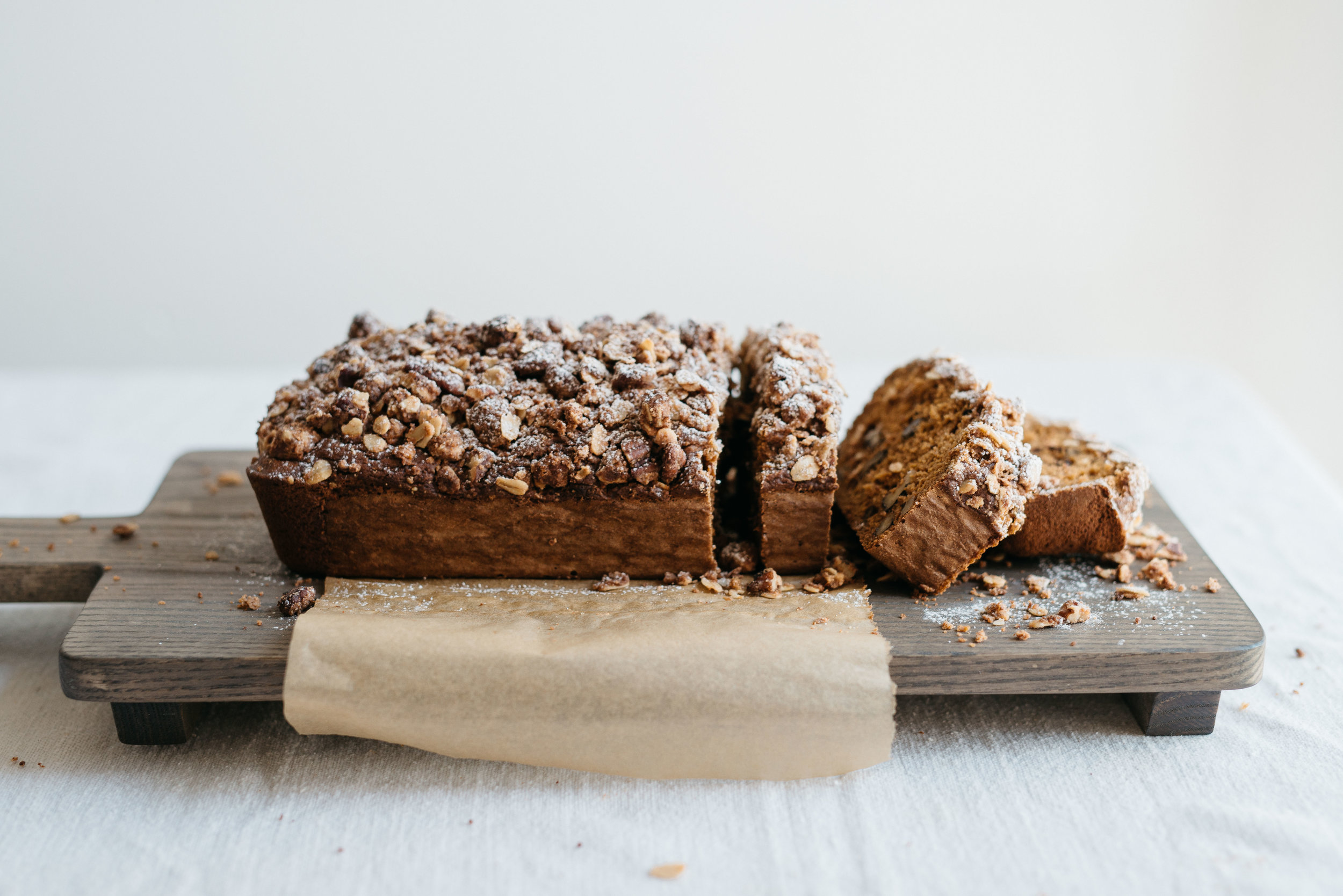 Double Coffee Pumpkin Cake | dolly and oatmeal