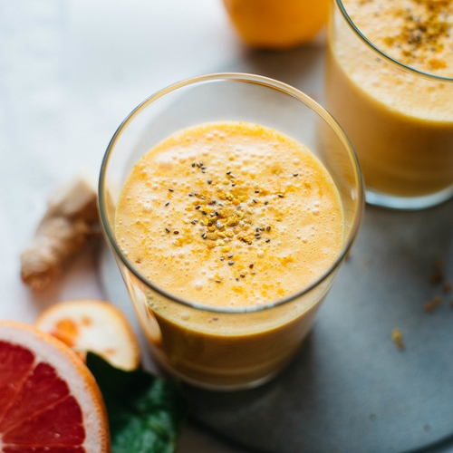 coconut citrus sunshine smoothie