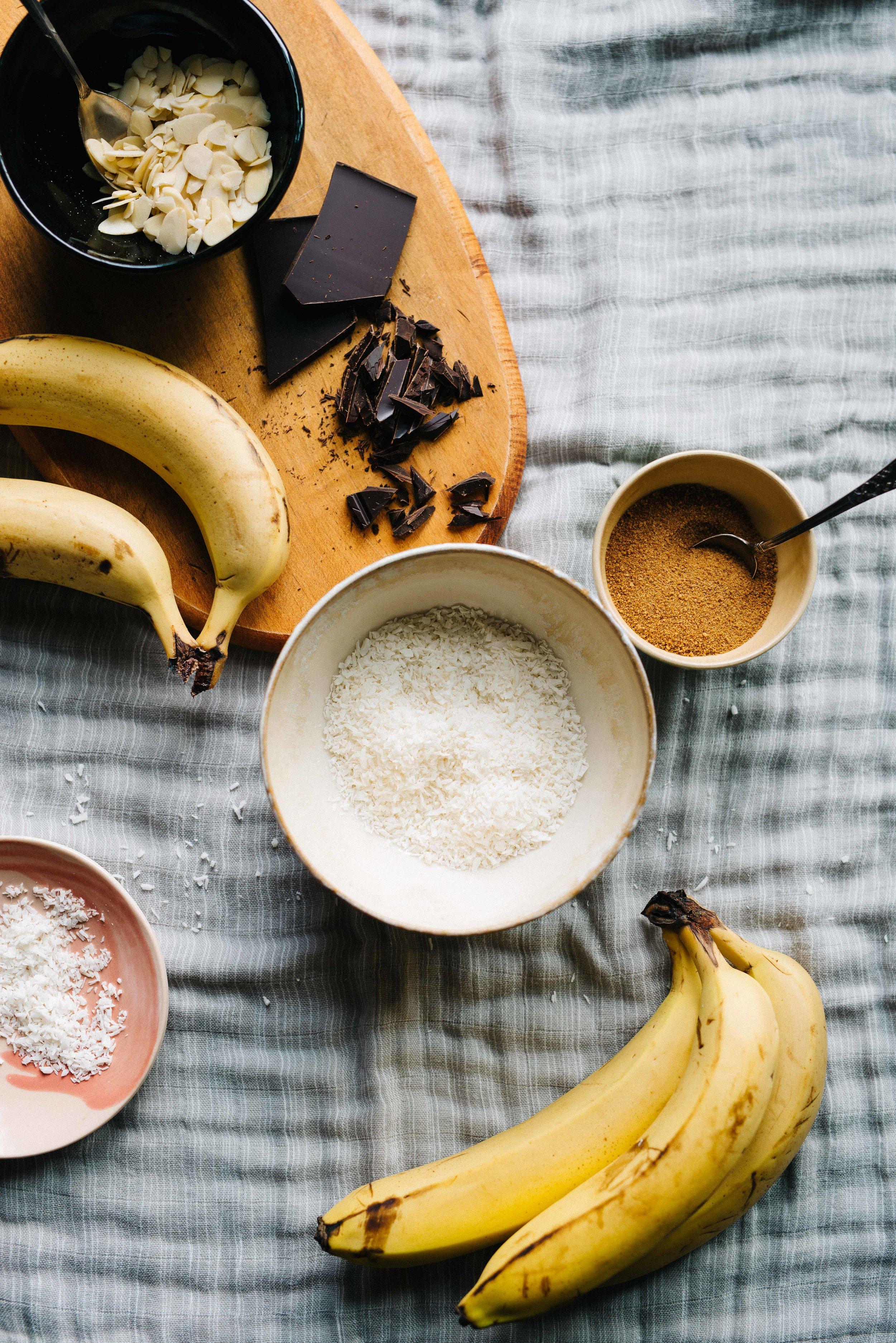 Banana, Coconut & Cardamom Ice Cream | dolly and oatmeal