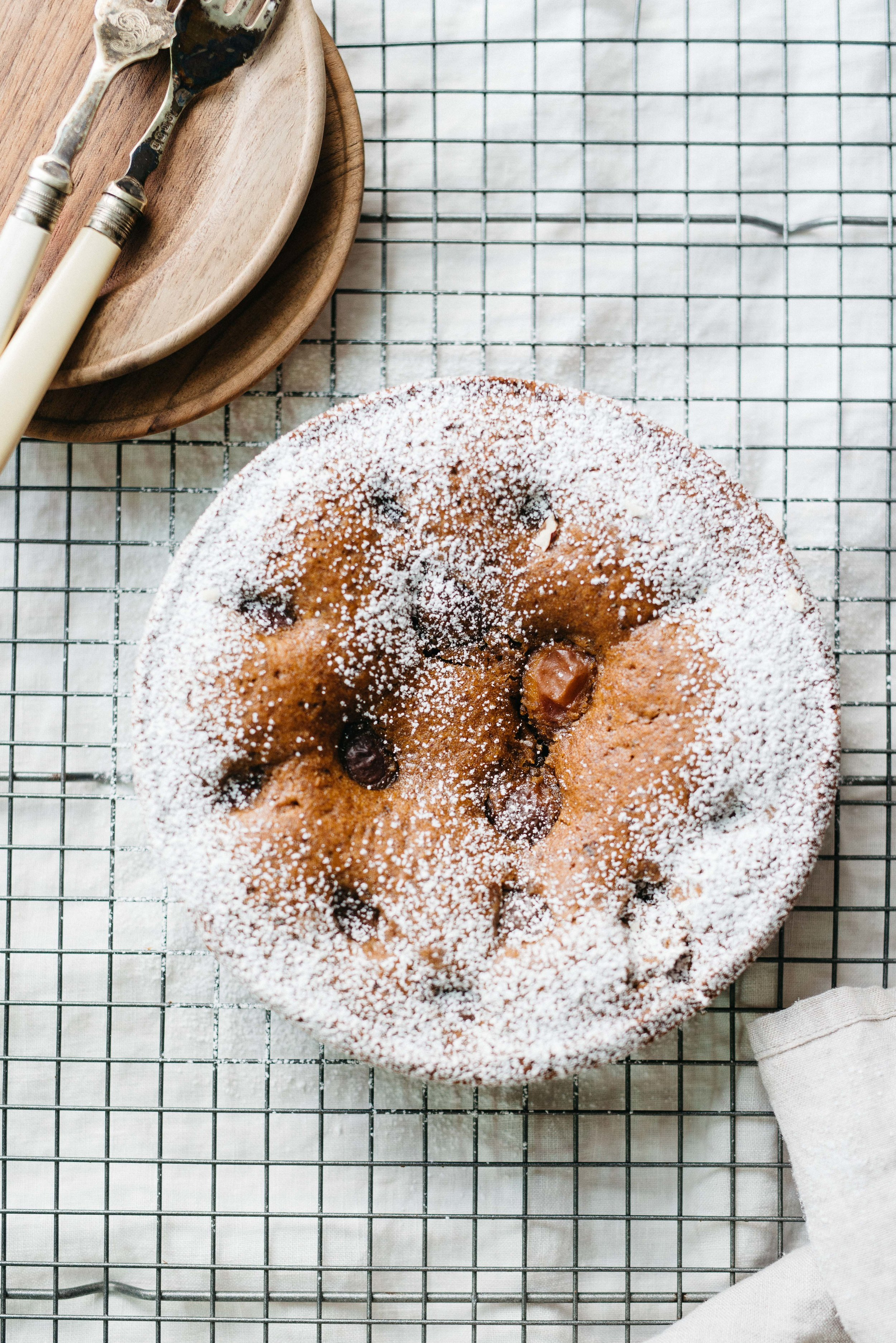 A Simple Plum & Hazelnut Torte | dolly and oatmeal