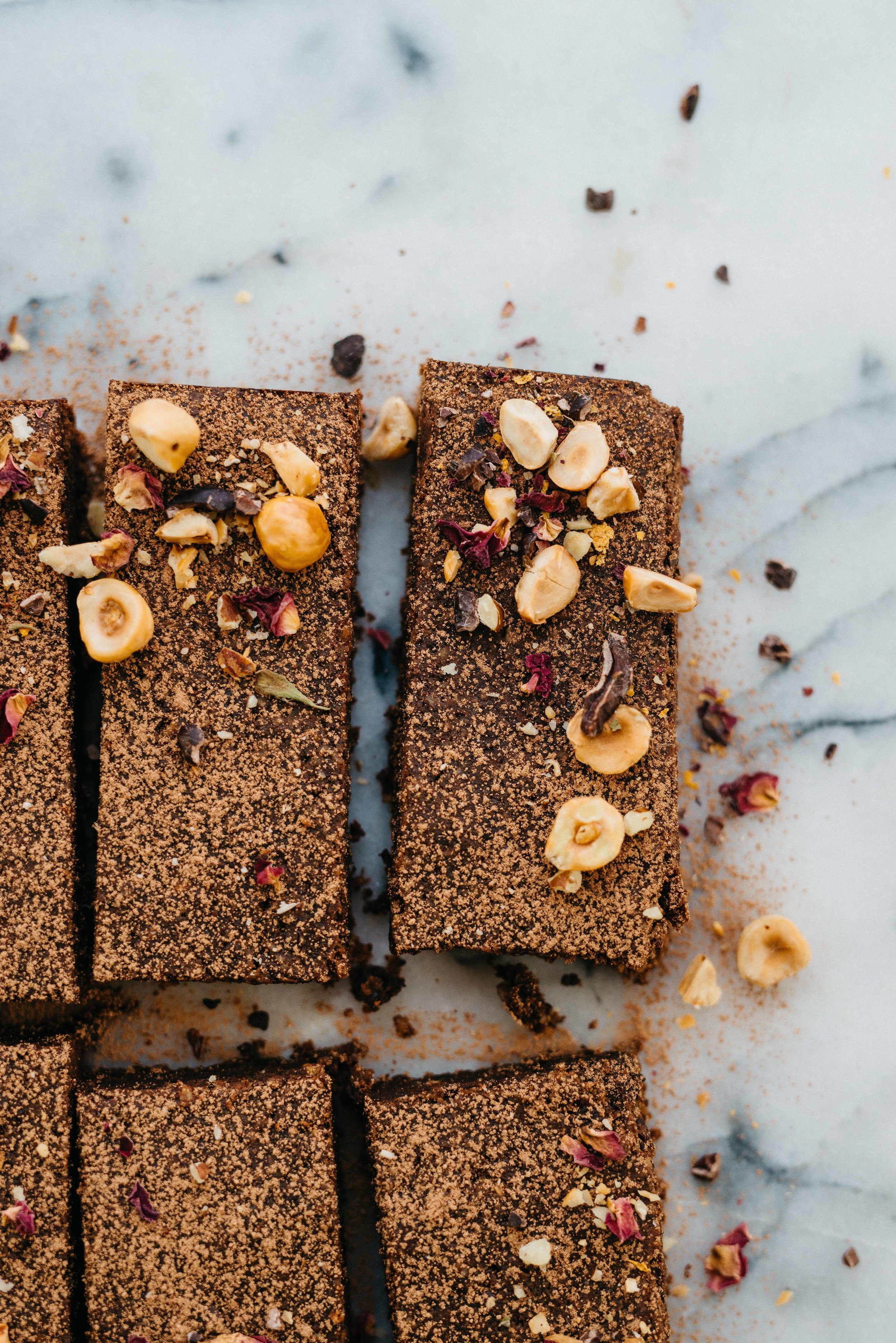 Sweet Potato Chocolate Brownies from Simply Vibrant | dolly and oatmeal