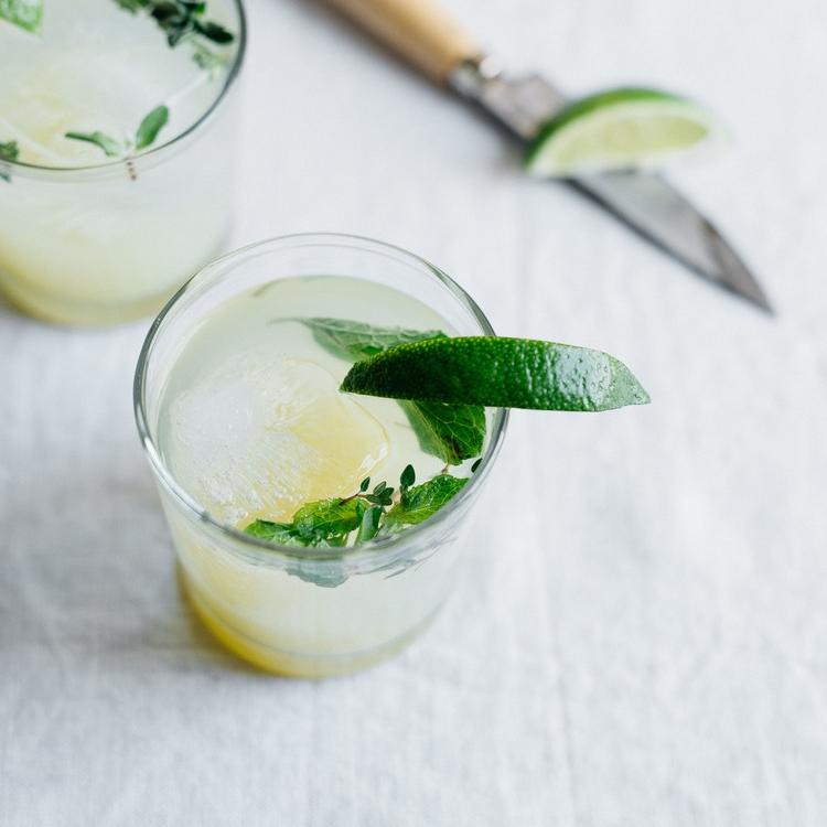 vodka gingerade w/ herbs