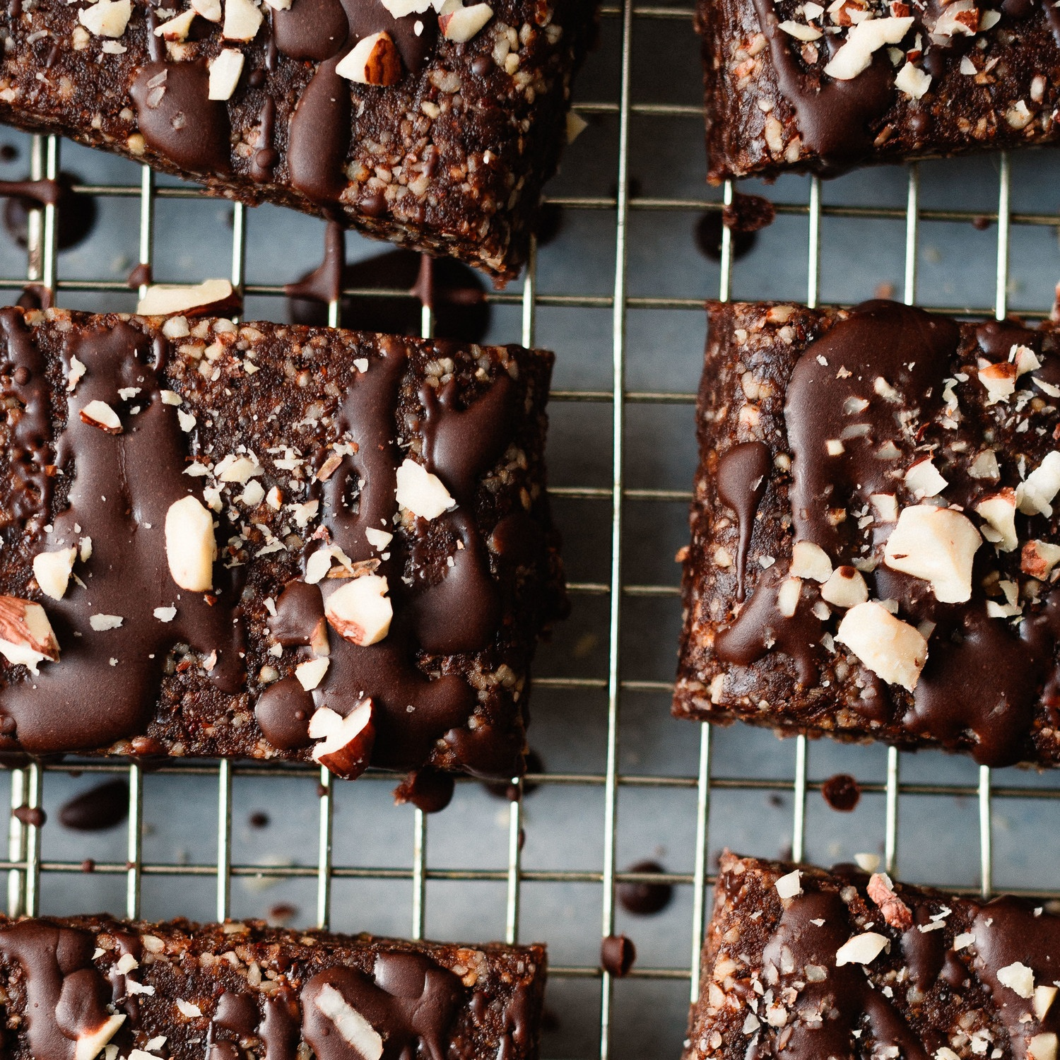 "raw ""nutella"" bars"