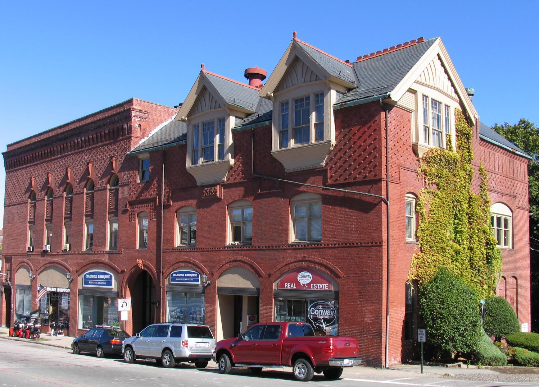 Milton Masonic Building Today