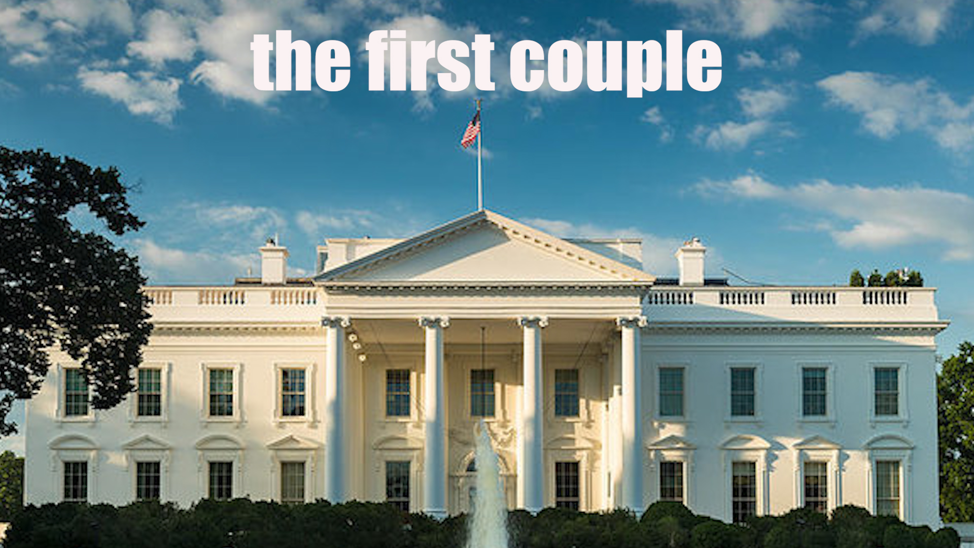 THE FIRST COUPLE  (Romantic Comedy)