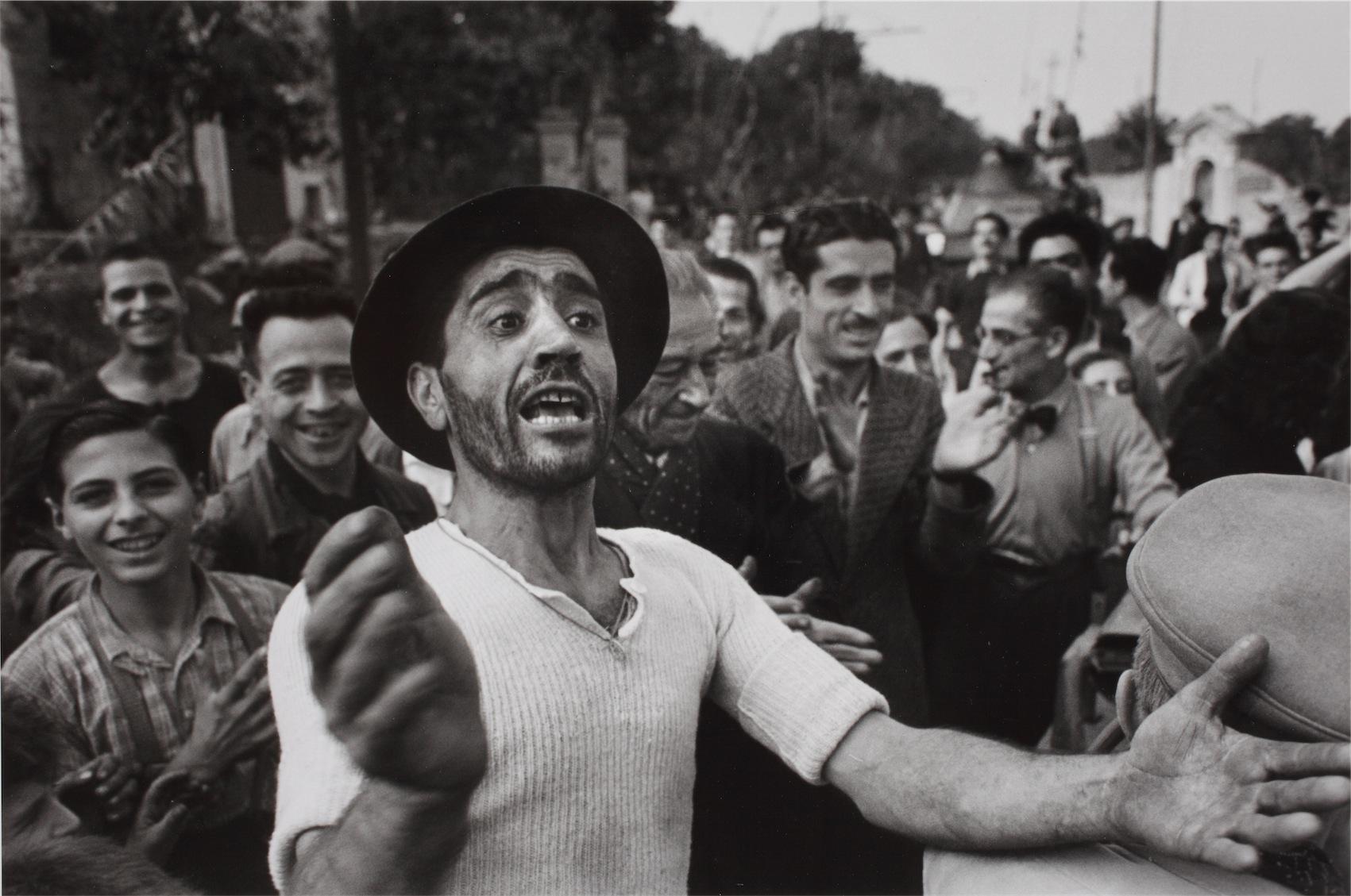 Benvenuto delle truppe americane a Monreale, 23 luglio 1943