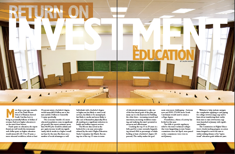 The ROI on Education