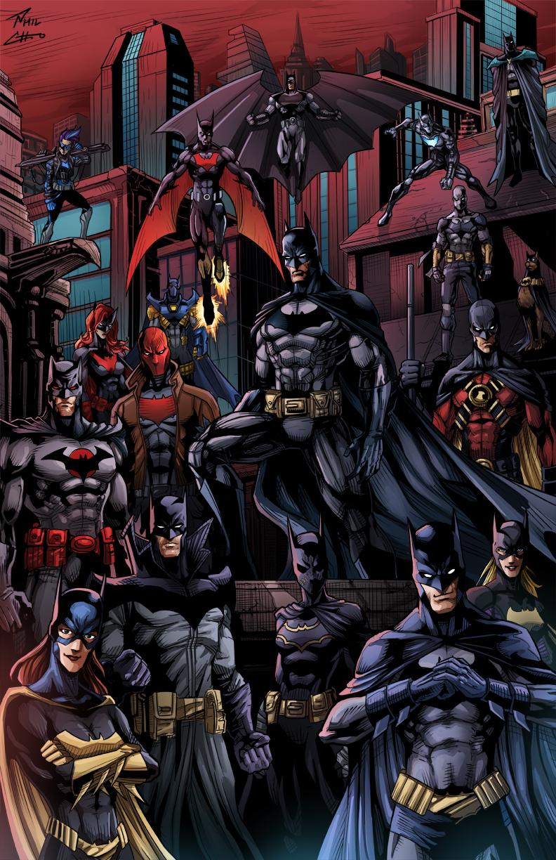 Batman75 Bat Family