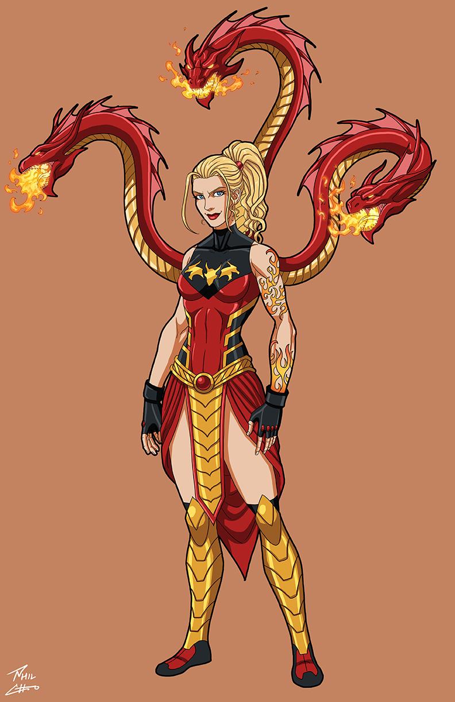 Fire Hydra