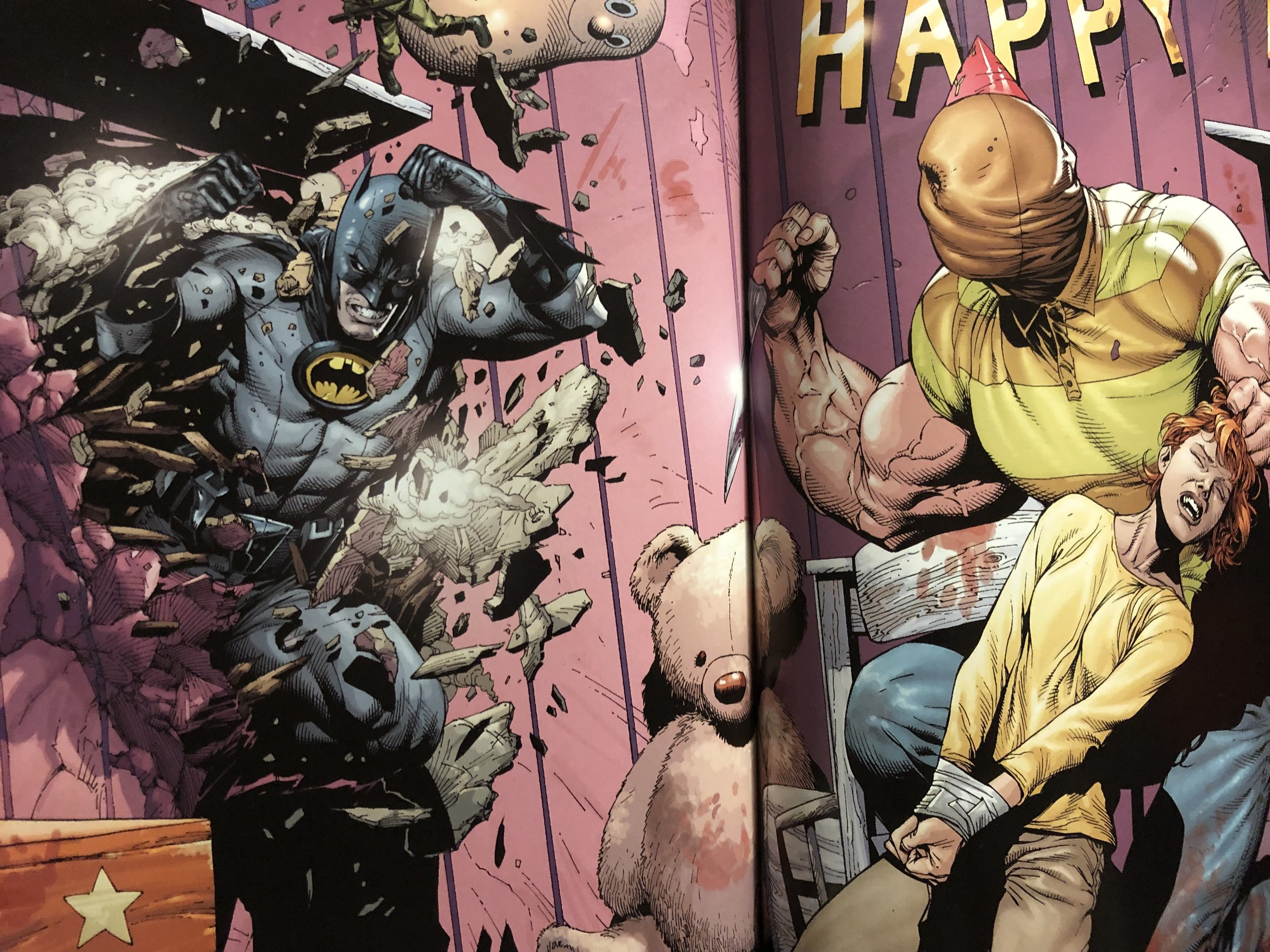 Credit: DC COMICS, Earth One by Geoff Johns & Gary Frank