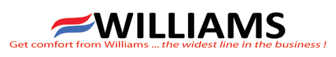 Get comfort from Williams ... the widest line in the business!