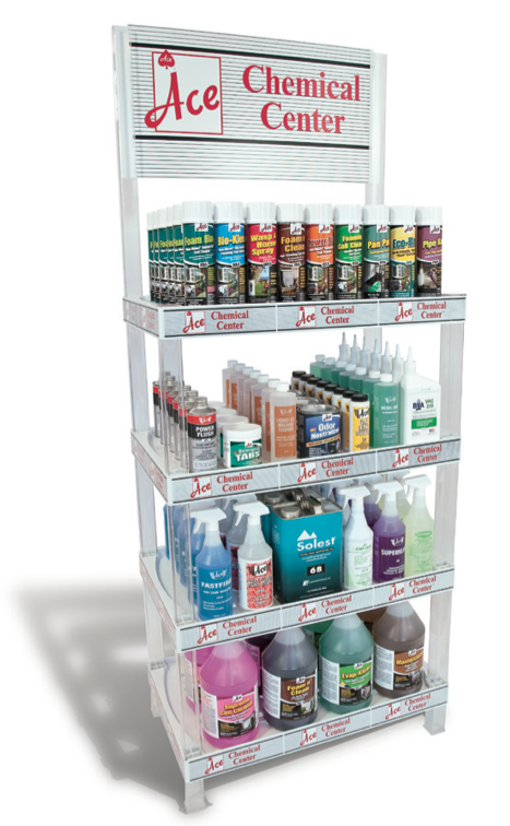 An Atlanta-based manufacturer, offering                       a complete range of chemical treatments for use in the HVAC/R                       markets. The Company's                       products are sold exclusively through HVAC/R wholesalers nationwide.    ACE Chemical ,                       as we are known throughout the HVAC/R industry, offers the HVAC/R                       wholesaler the widest choice of chemical products available from                       one source. Products offered include coil cleaners, refrigeration                       oils, aerosol products, IAQ products, condensate repair products,                       refrigerant line flushing/acid removal and many more.