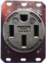 NEMA 14-50 Wall Outlet