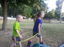 See Ezra's Smile! He loves to play with his big sister!