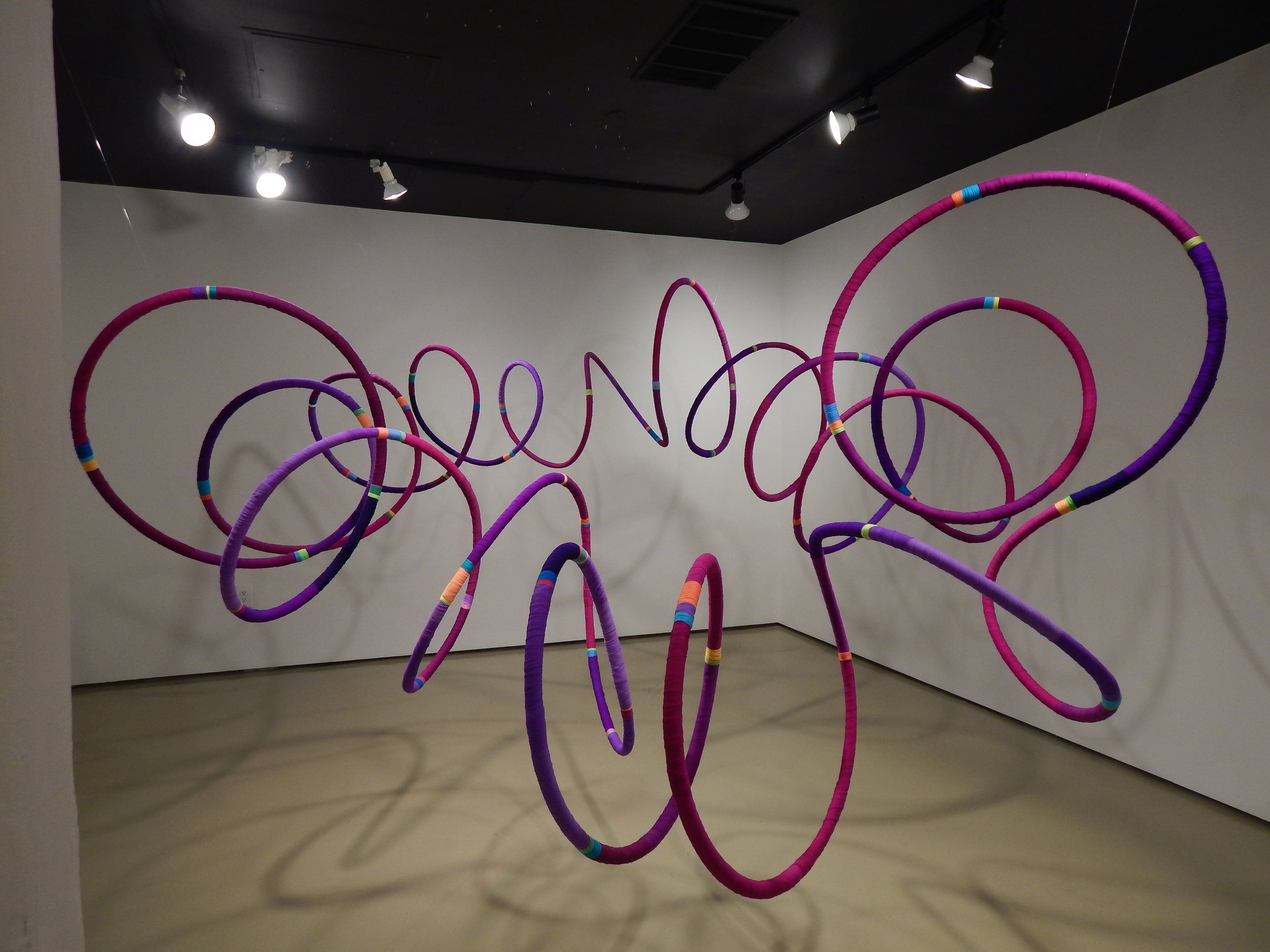 Judy Thomas, 'Cadence', 2016, PEX, hosiery