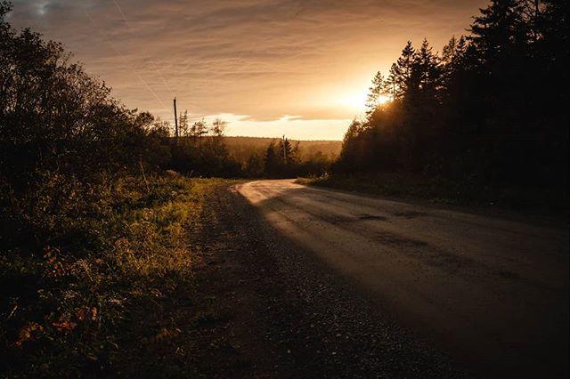 An evening drive through Glencoe.