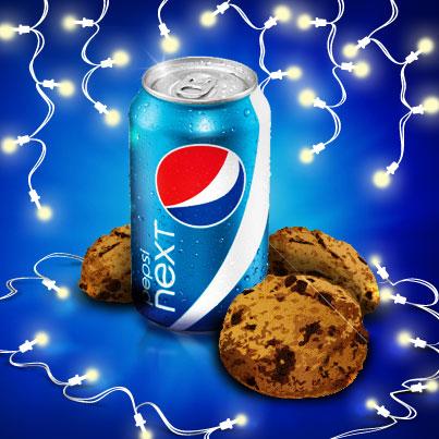 Cookies and Pepsi NEXT for Santa