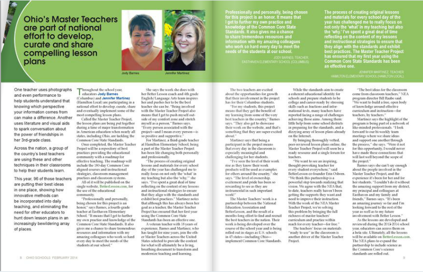 Feature in OEA Magazine | Jennifer Martinez | everythingjustso.org