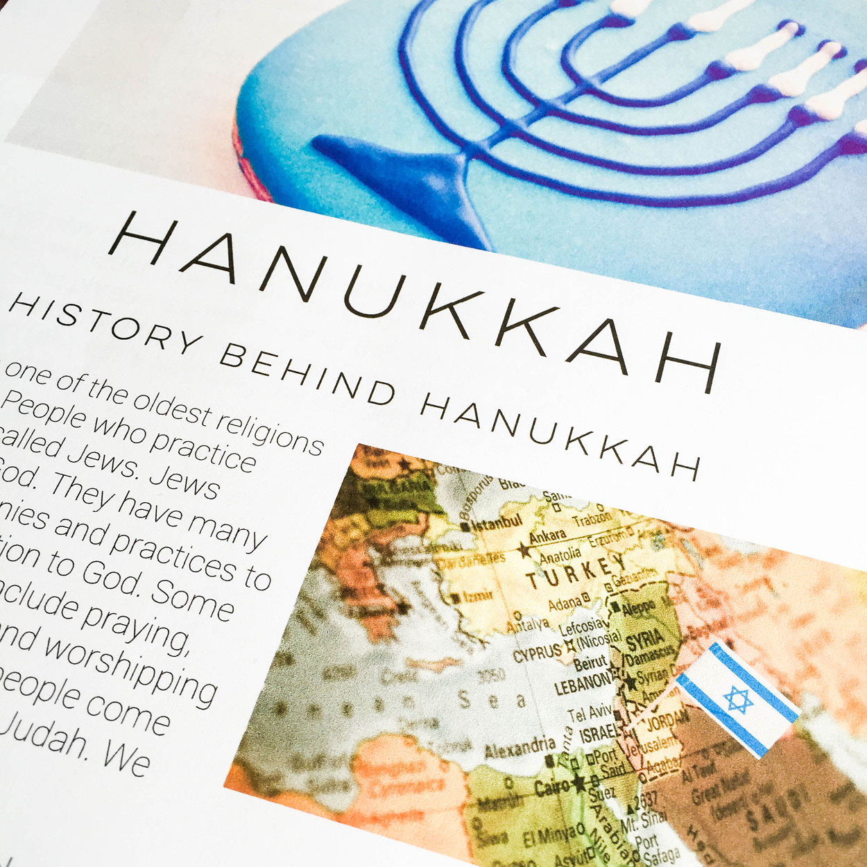 Hanukkah Mini Unit | everythingjustso.org