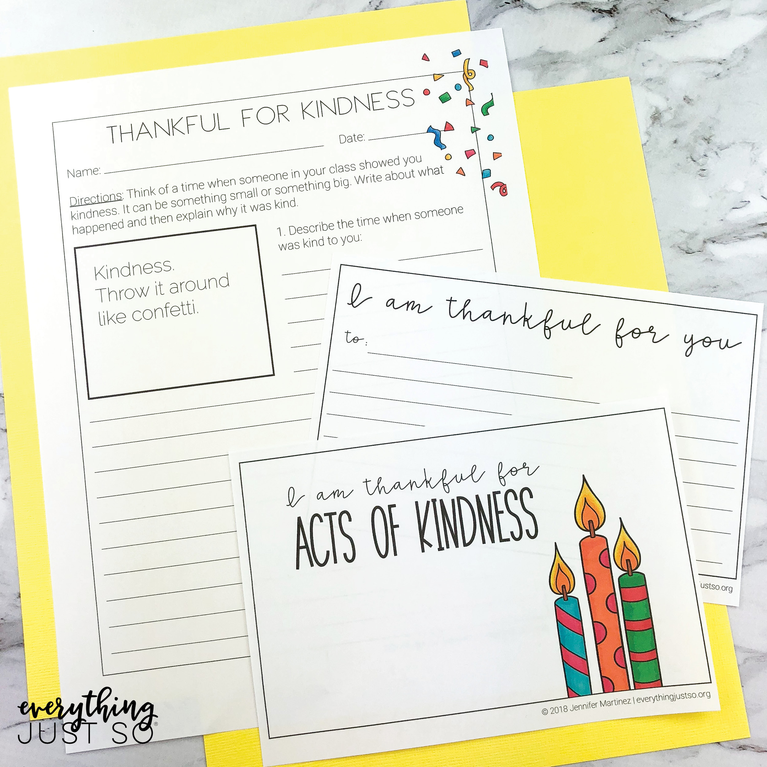 Kindness Writing Bundle
