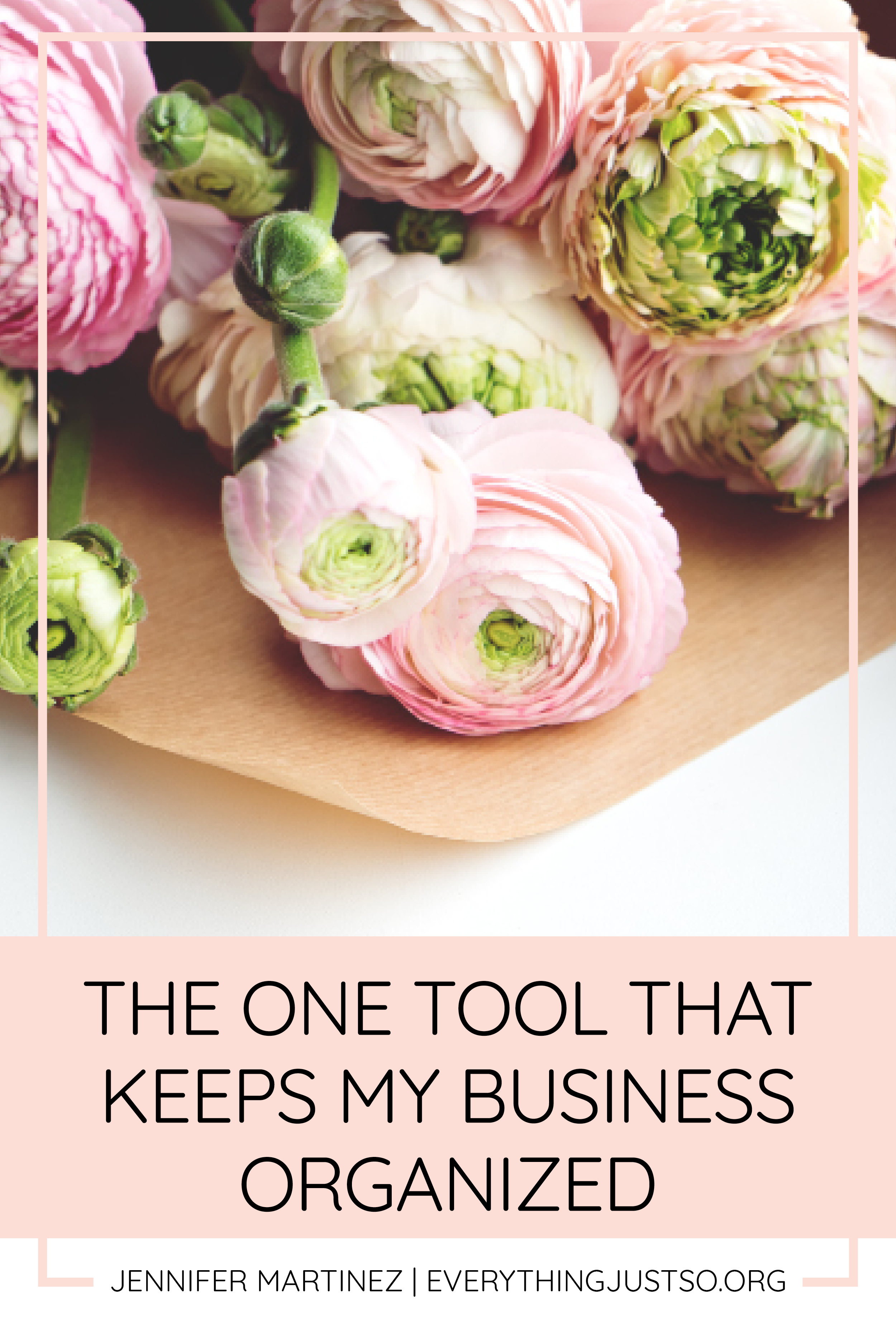The One Tool that Keeps my Business Organized | Wondering how to get organized and keep your online business running smoothly? This one tool works to organize it all – blog post planning, resource ideas, sales and promotional data, tax information, and more. No need for multiple tools – get organized with this one business planner. | everythingjustso.org #tptplanner #teacherspayteachersbinder #tptsellerbinder
