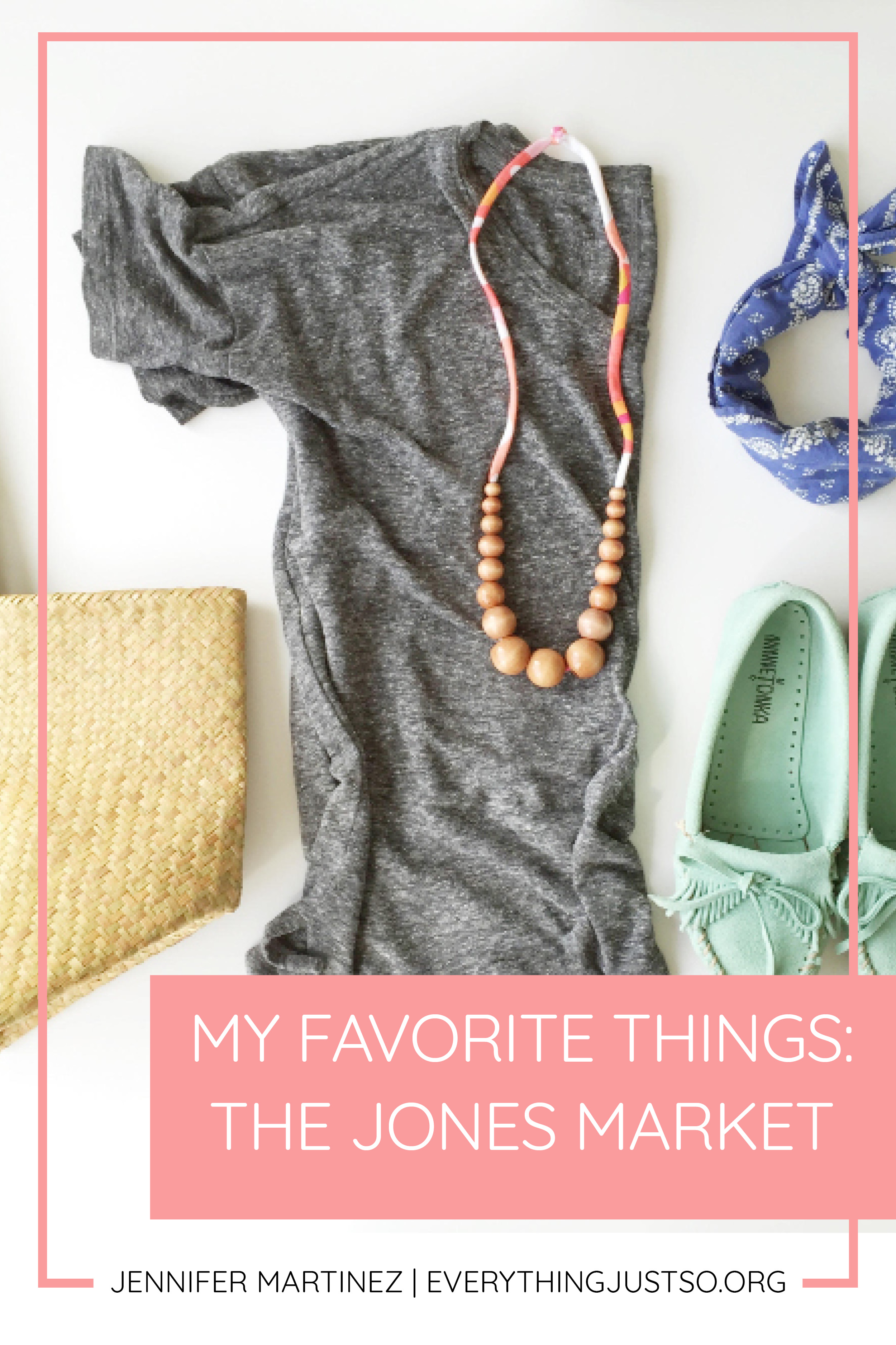 The One Flexible Necklace You Need as a Teacher | Stay cute and safe with these fun, flexible necklaces from The Jones Market. Part of my Teacher Appreciation Week Series on My Favorite Things. Win some of my favorite teacher things including teaching resources for your classroom. | everythingjustso.org #upperelementary #thejonesmarket #flexiblenecklace #teacherapparel