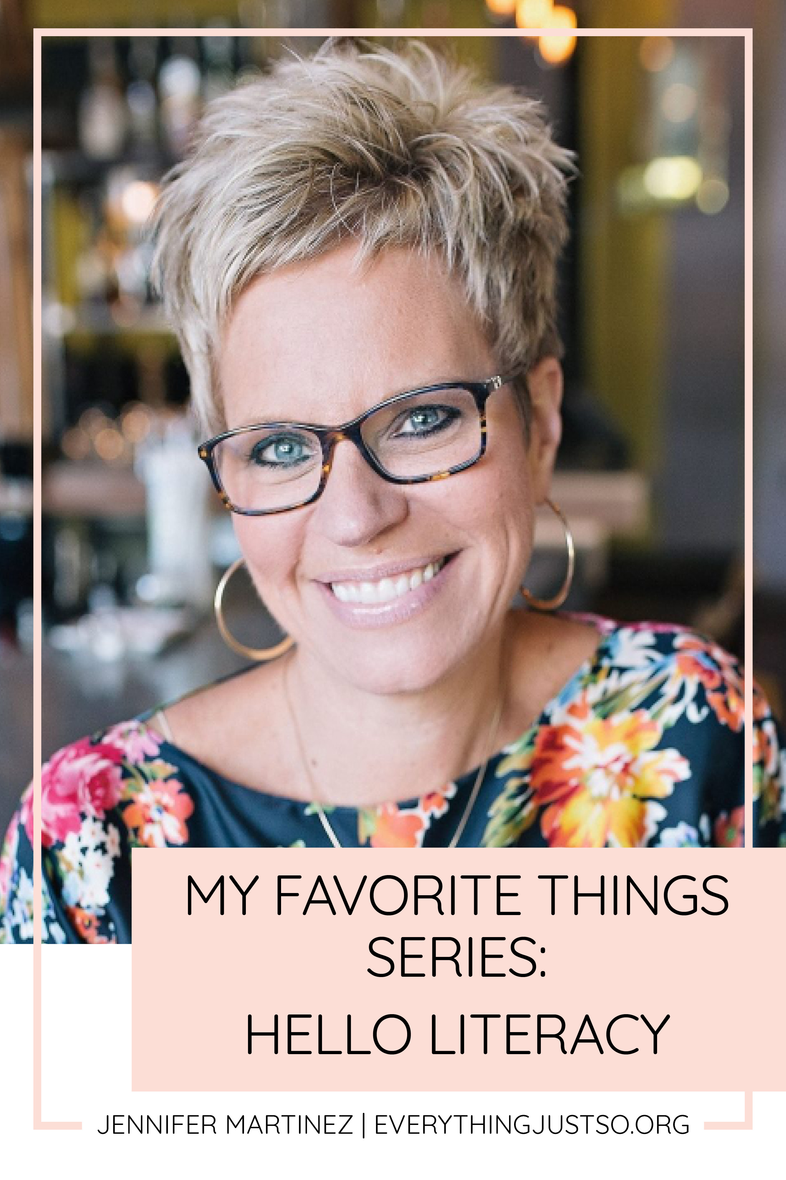 My Go To Source for the Best RtI Resources | Meet my go-to person for quality, research based RtI resources: Jen Jones of Hello Literacy. Part of my Teacher Appreciation Week Series on My Favorite Things. Win some of my favorite teacher things including teaching resources for your classroom. | everythingjustso.org #helloliteracy #rti #rtiresources #teachingresources #upperelementary