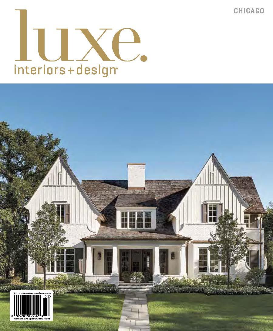 LUXE Magazine Features ELLIOT EAKIN Furniture