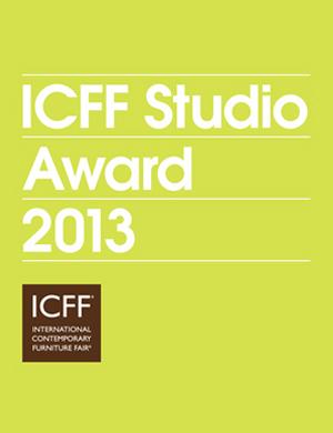 ICFF STUDIO AWARD 2013