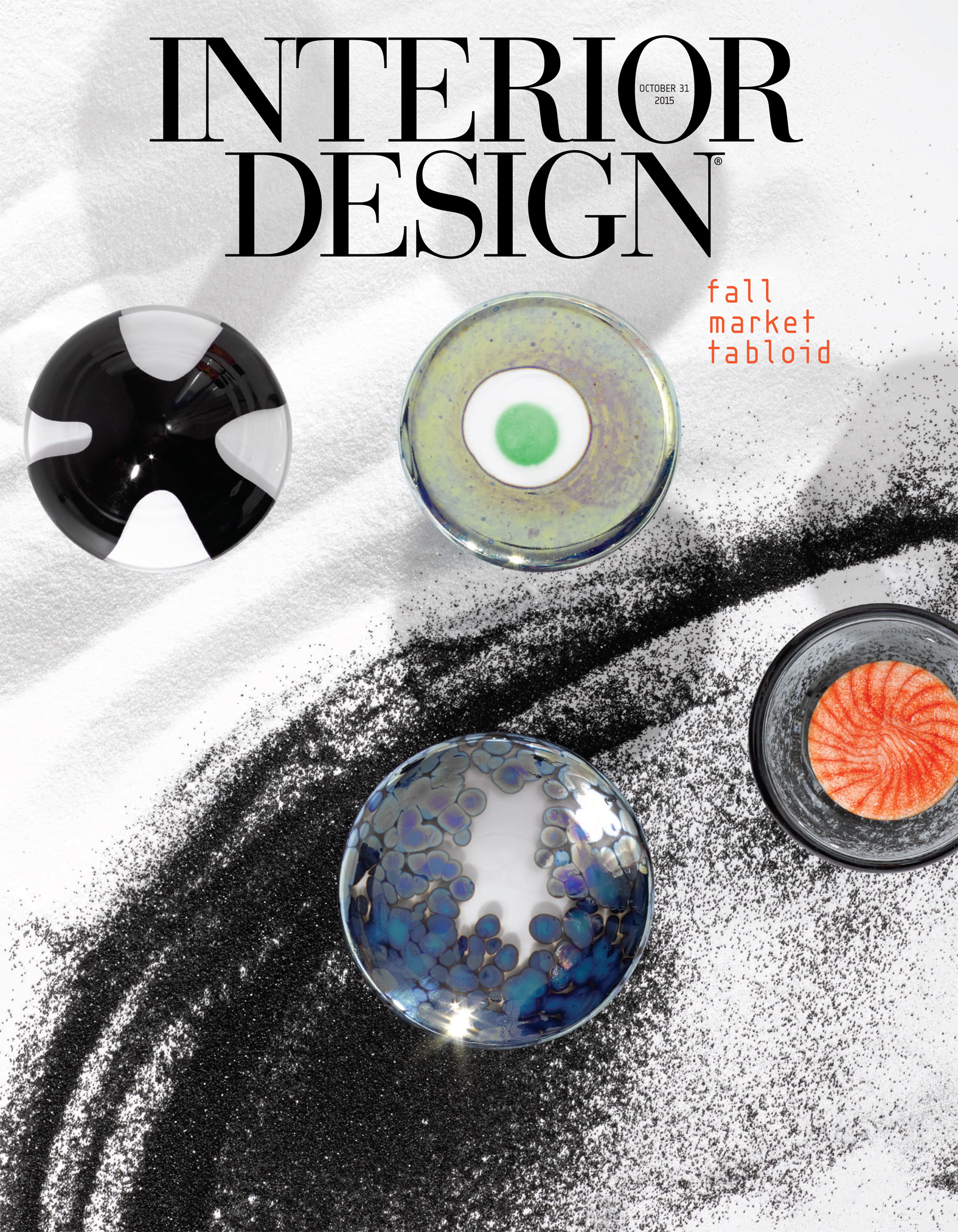 INTERIOR DESIGN MAGAZINE FEATURES USHER DAYBED