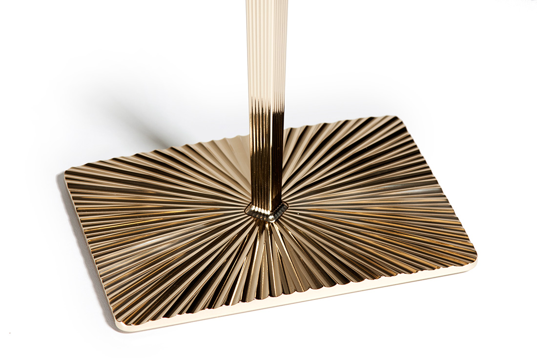 MARQUETRY SIDE TABLE