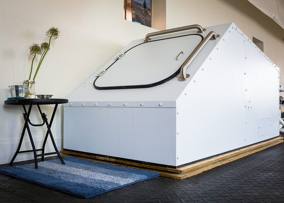 This is the float tank I was in!