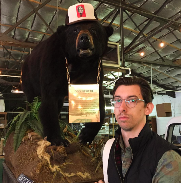 Victor with the Cocaine Bear