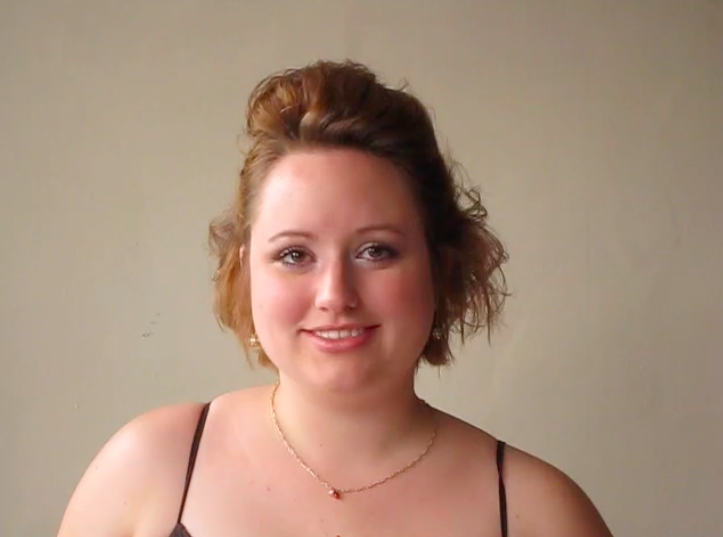 """I was 22 here. I had just been diagnosed with PCOS and weighed about 180-190. I'm 5'2""""."""