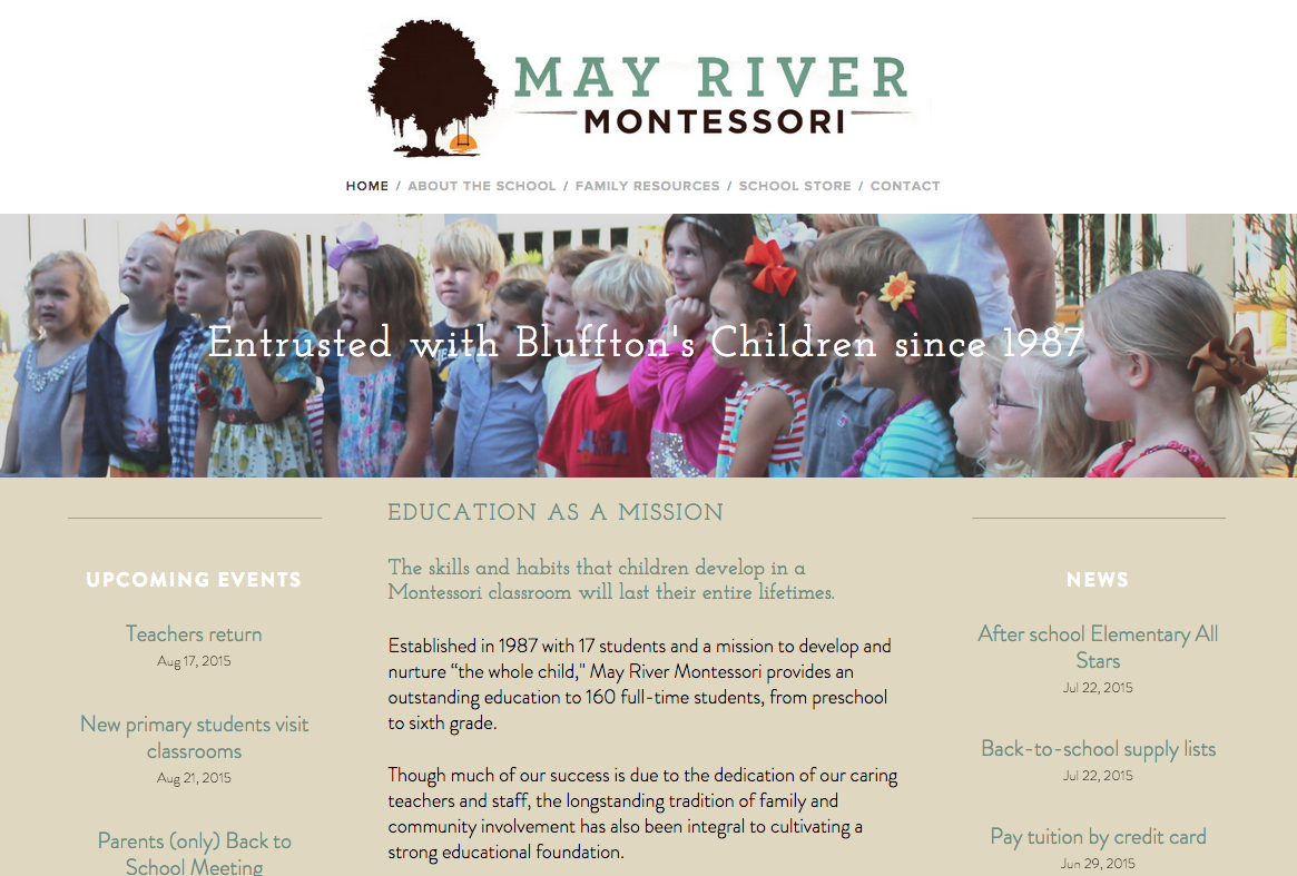 May River Montessori-- www.mayrivermontessori.com