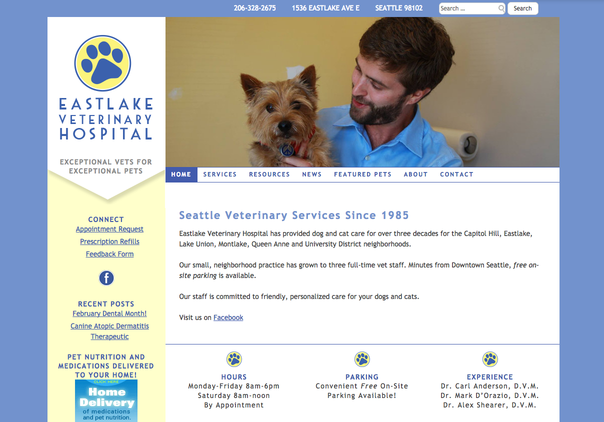 Eastlake Veterinary Hospital -- www.eastlakevethospital.com