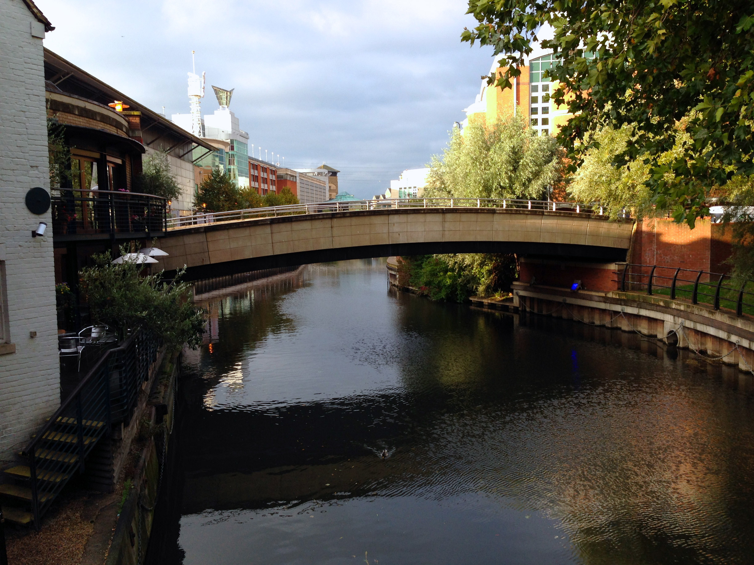 Canals in Reading - Leads to the Oracle shopping center
