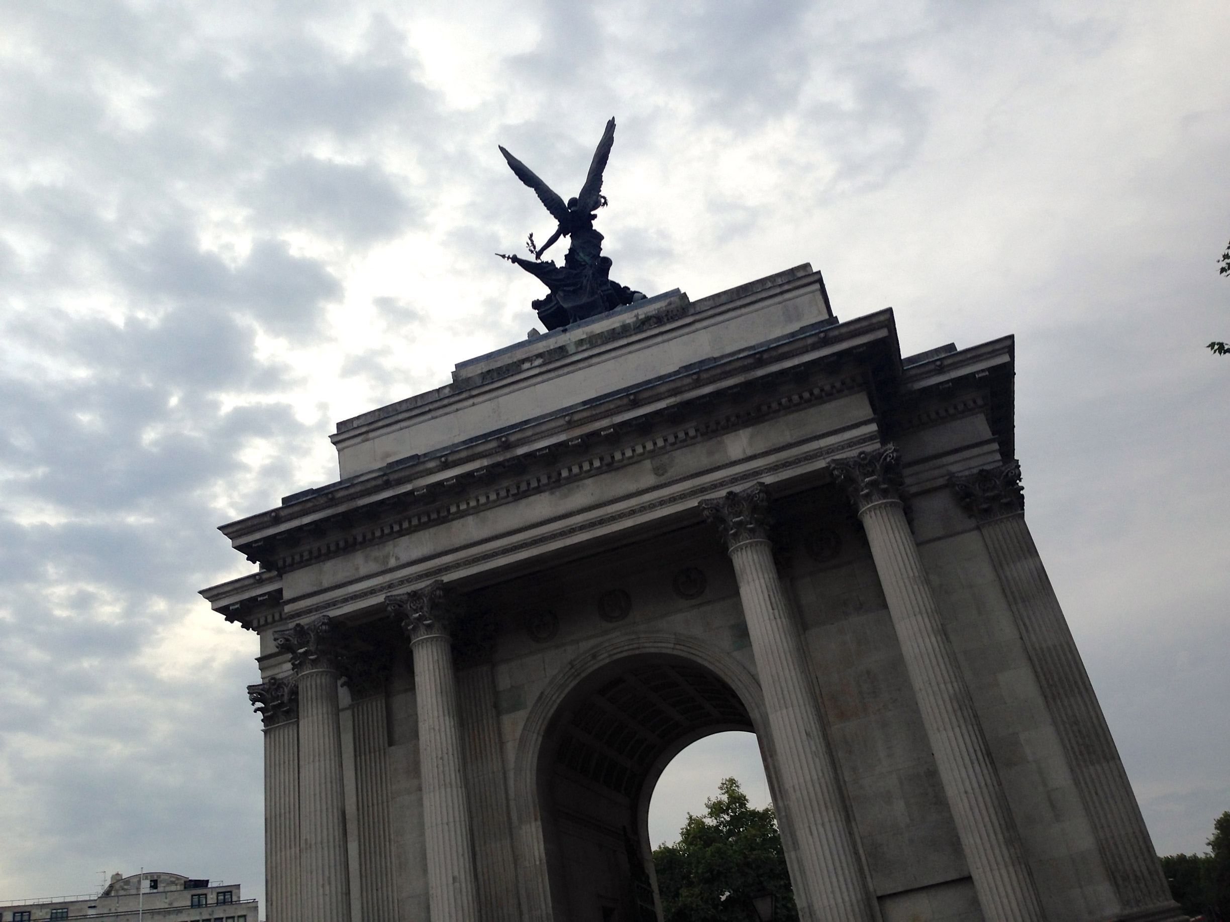 The Wellington Arch in St. James Park
