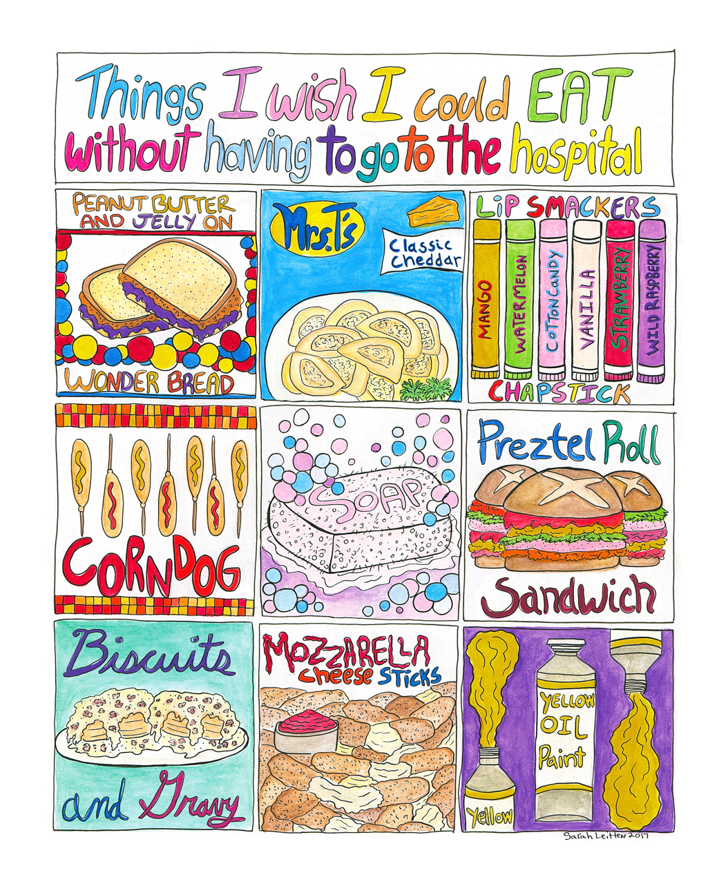 Things I Wish I Could Eat Without Having To Go To The Hospital