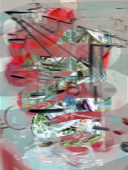 "Cherry Love (omi), 14x10"", Lenticular Print."