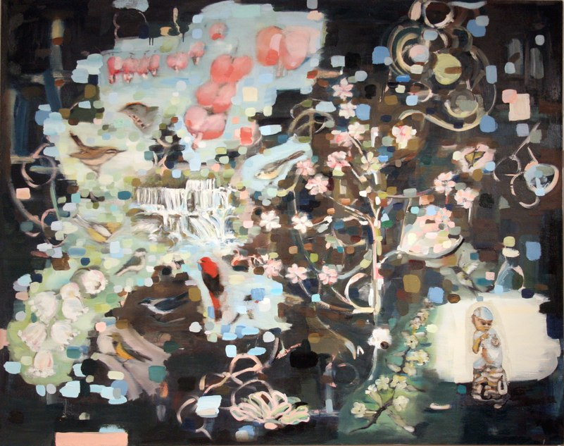 Pearl ,oil on canvas,  48x60 inches, 2008. Courtesy of The Bemis Center for Contemporary Art.