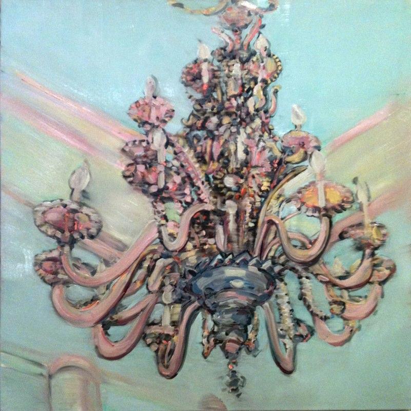 Orion, oil on canvas,  40x40 inches, 2010. Courtesy of Deborah Colton Gallery, Houston, TX.