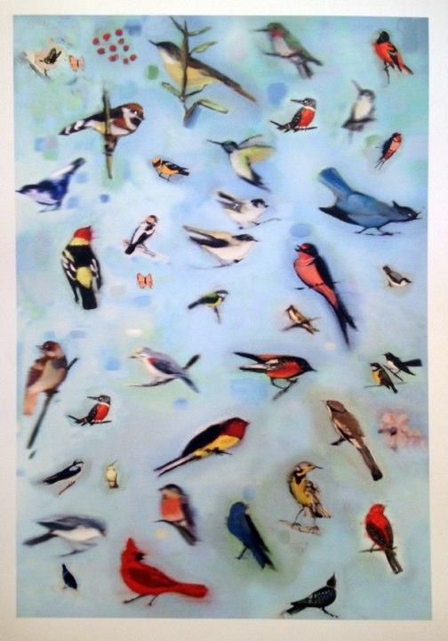 Bird Count, pigment print, 2012.
