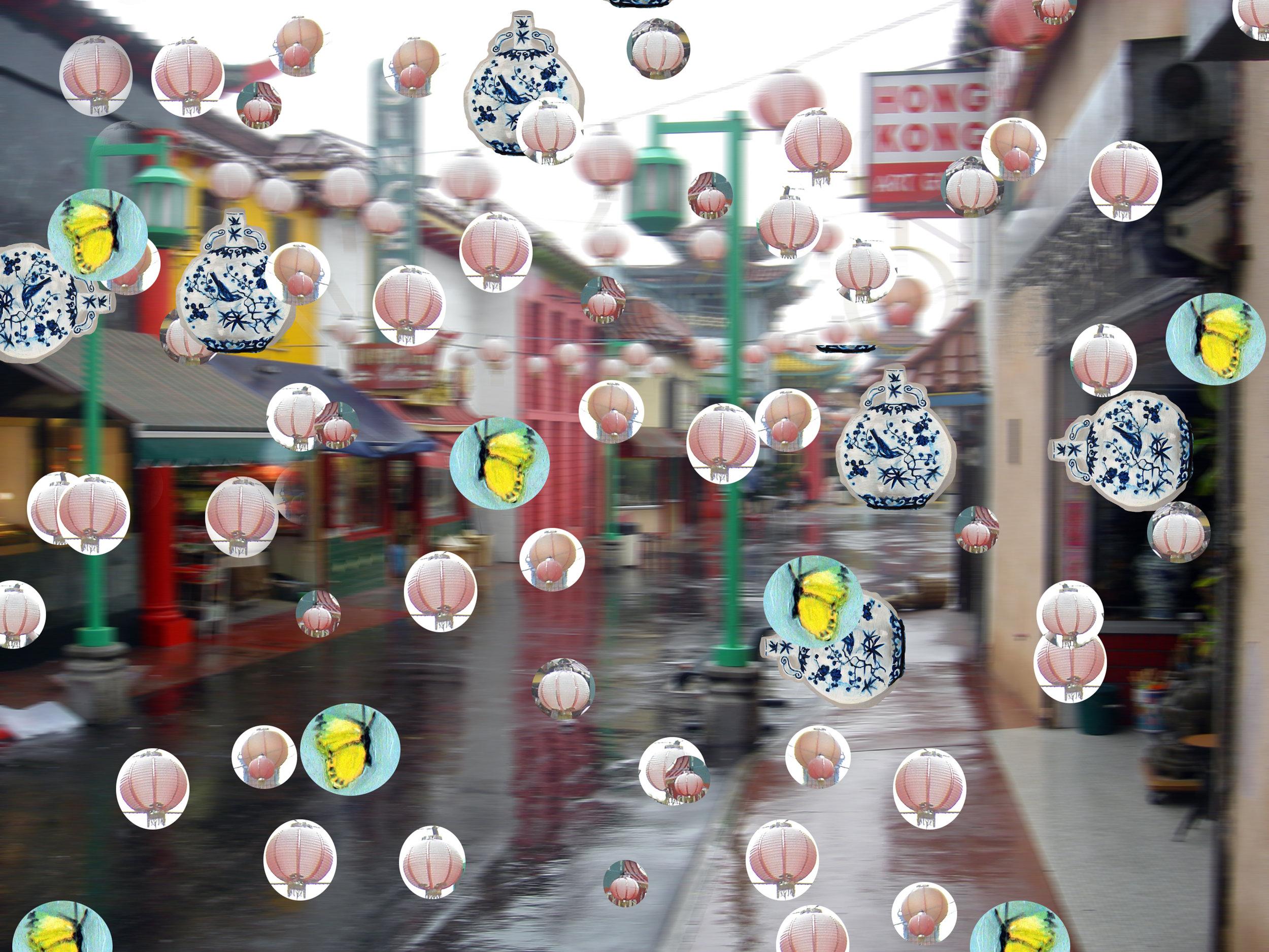 China Town ,   size varies, 2014-16.