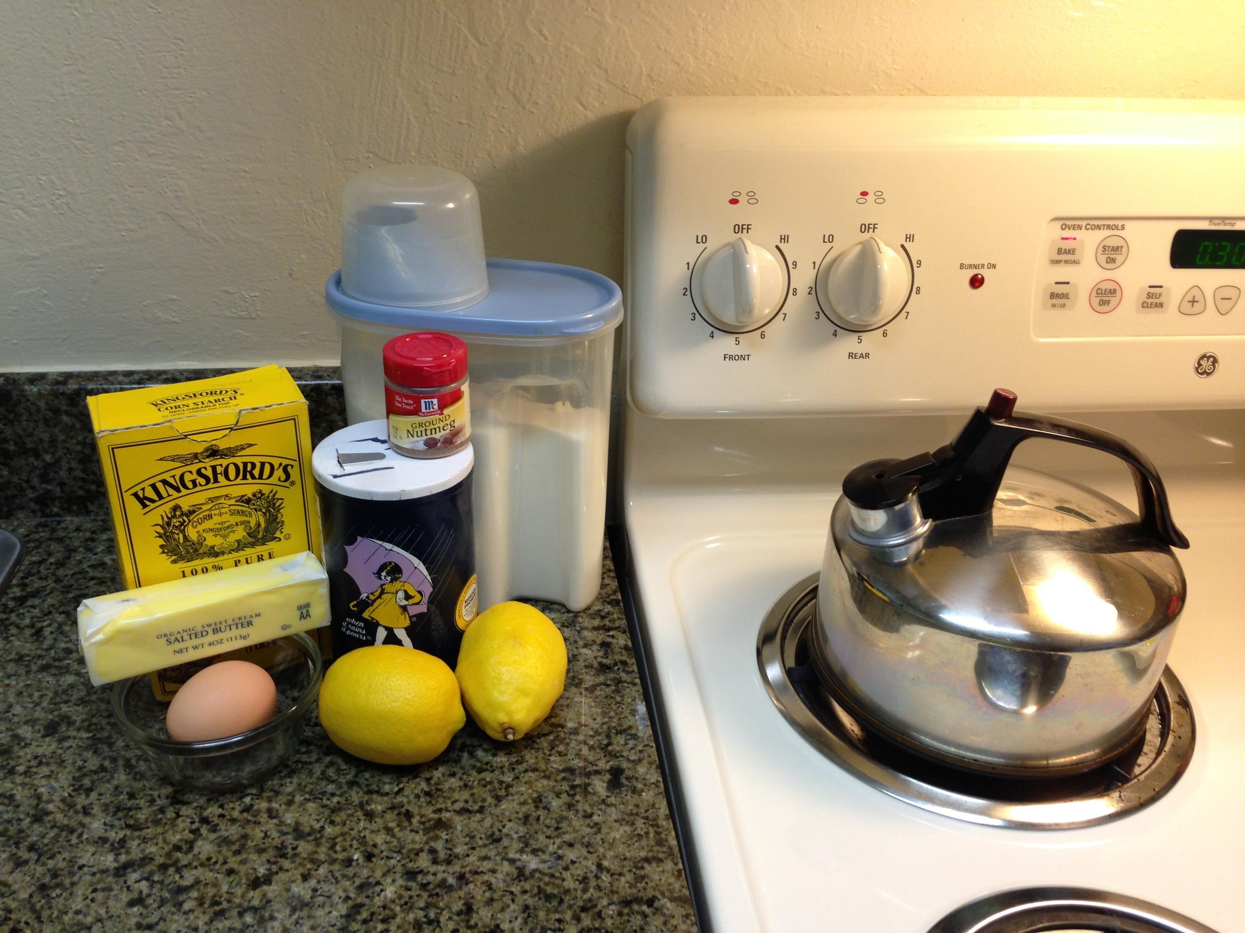 Lemon Topping Ingredients